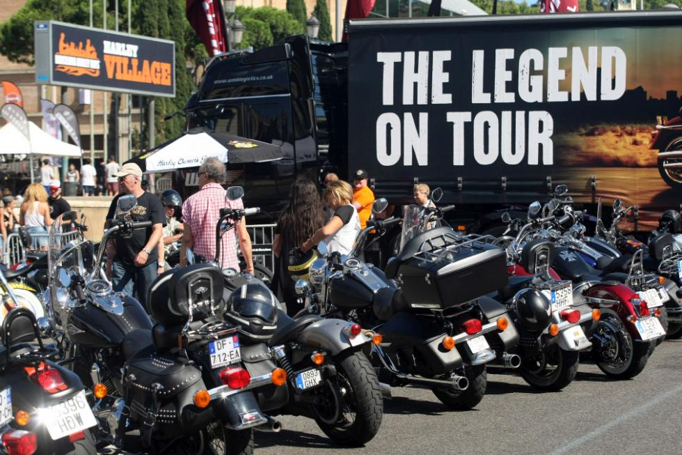 Barcelona Harley Days 2015, Legend on Tour