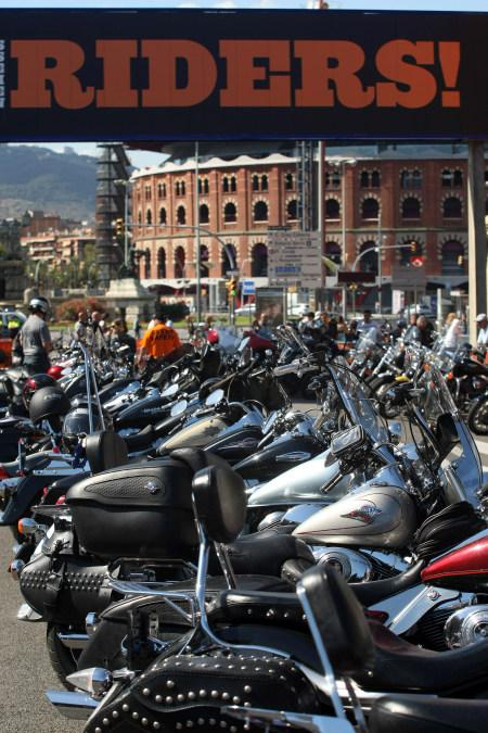 Barcelona Harley Days 2015, Riders on Tour