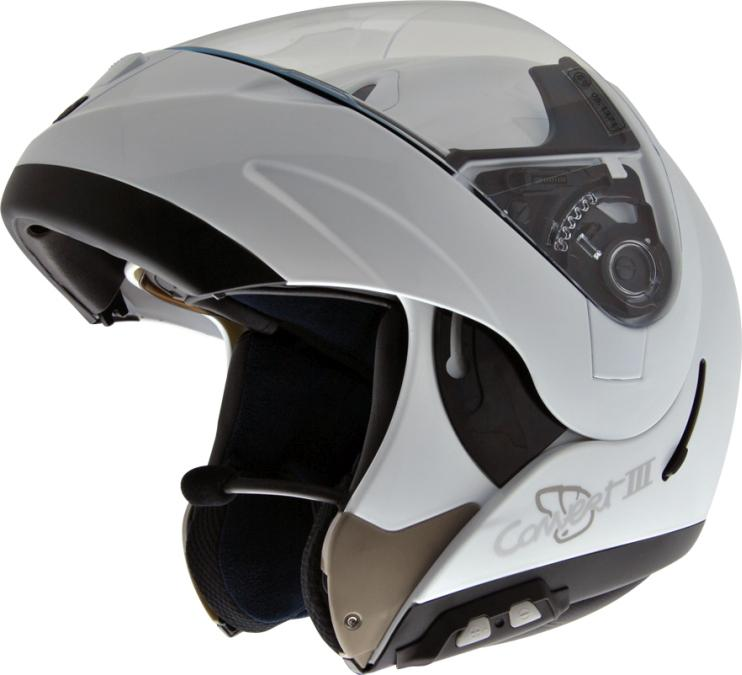Casco convertible abierto