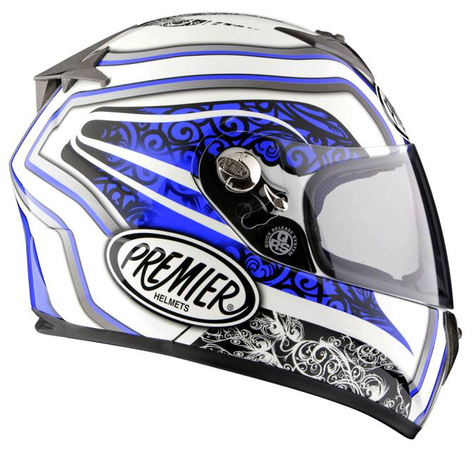 Casco integral perfil