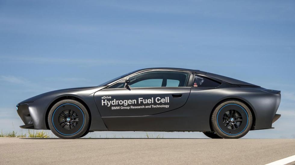 BMW i8 hidrogeno lateral
