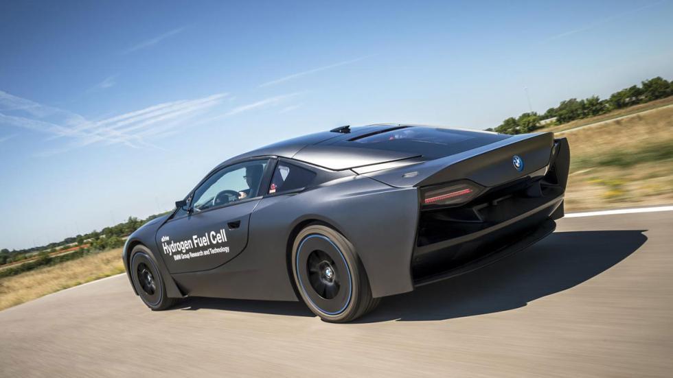 BMW i8 hidrogeno trasera