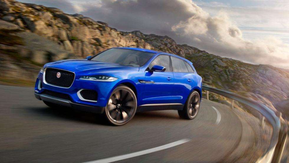 Jaguar F-Pace delantera