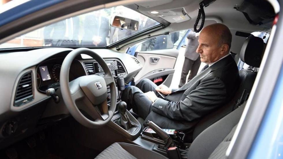 Seat León de la Policía italiana
