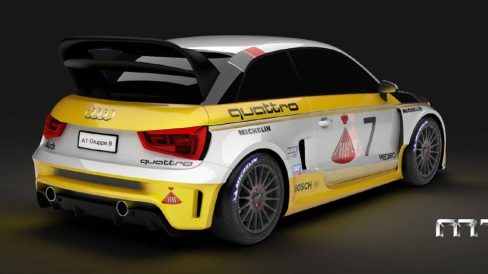 MTM Audi A1 Quattro Group B
