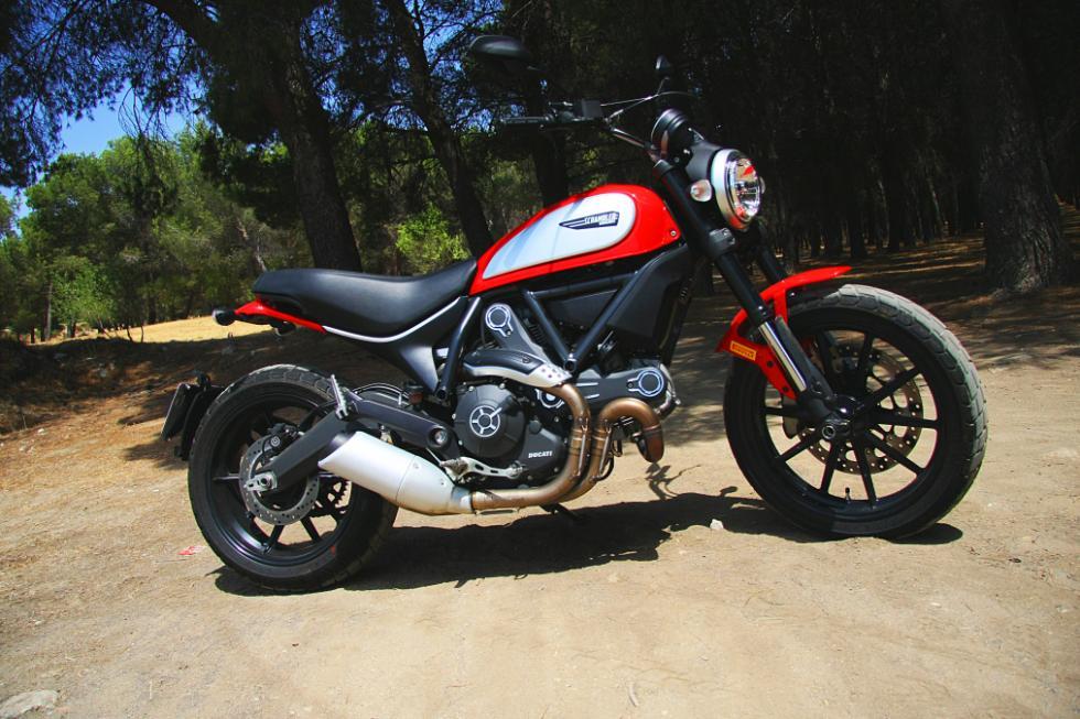 Ducati Scrambler Icon estática derecha