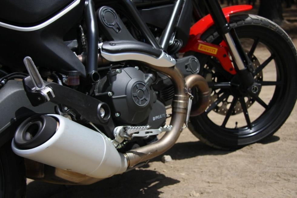 Ducati Scrambler Icon escape