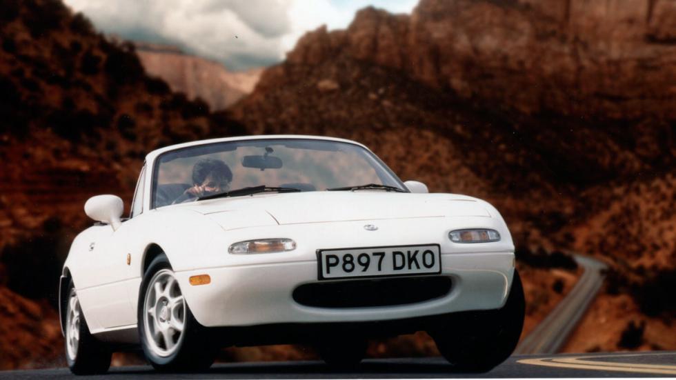 Mazda mx-5 na delantera