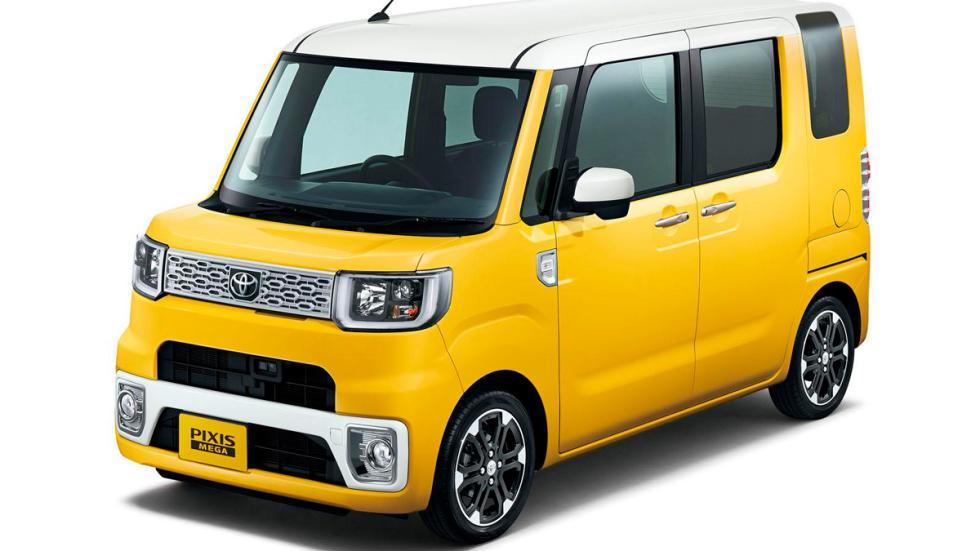 Toyota Pixis Mega amarillo