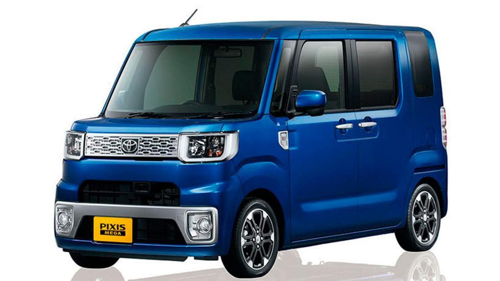 Toyota Pixis Mega azul