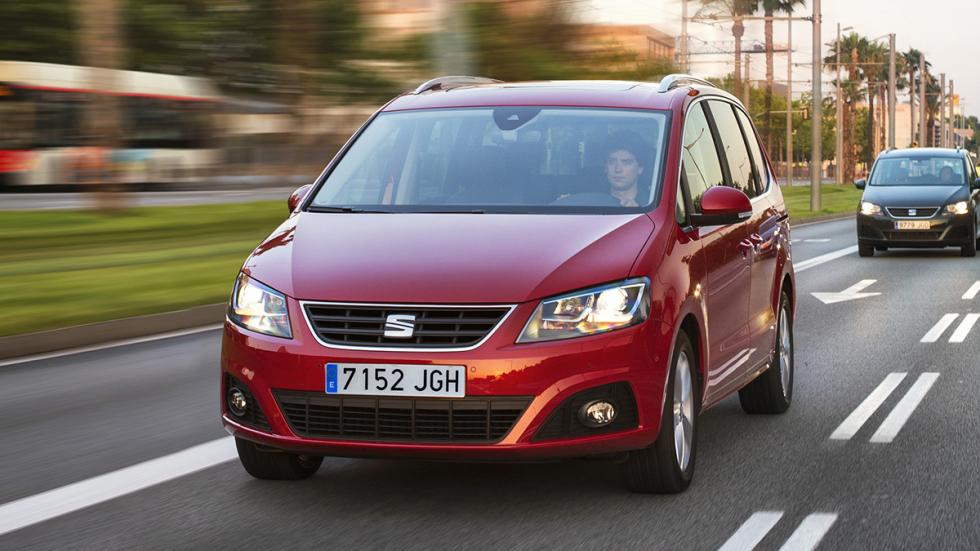 Nuevo seat Alhambra 2015 frontal