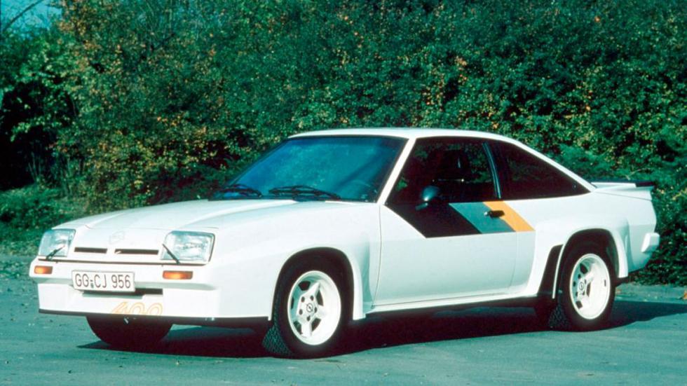 Opel Manta 400 delantera