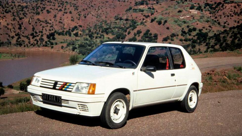 Peugeot 205 Rallye delantera