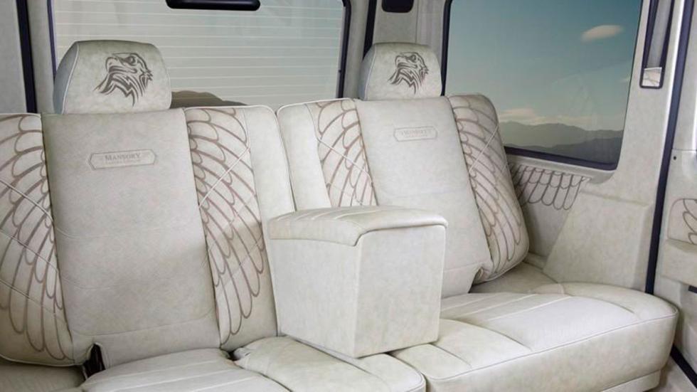 Mansory G63 AMG Sahara asientos
