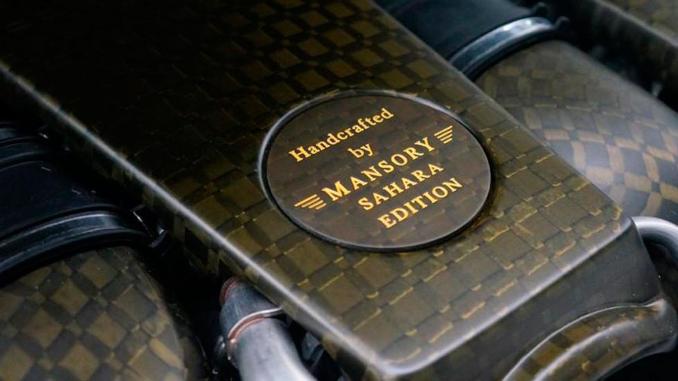 Mansory G63 AMG Sahara motor