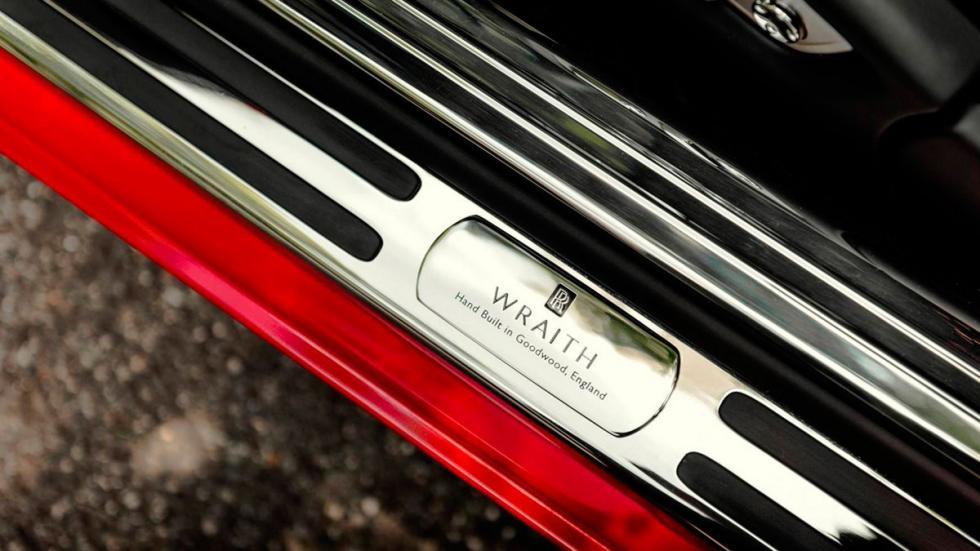Rolls-Royce Wraith St. James Edition placa