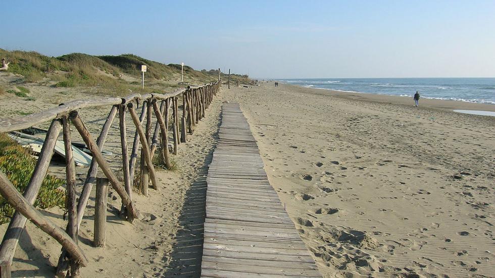 Playa de Capocotta
