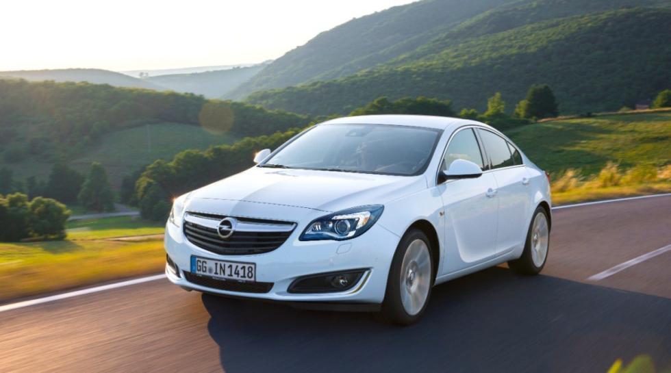 Opel Insignia delantera