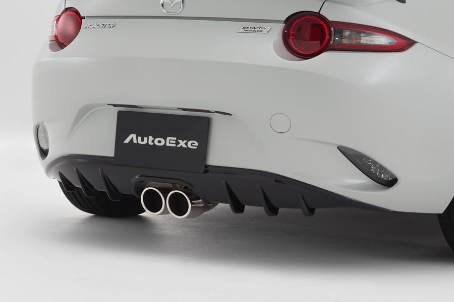 Mazda MX-5 de Autoexe detalle trasero