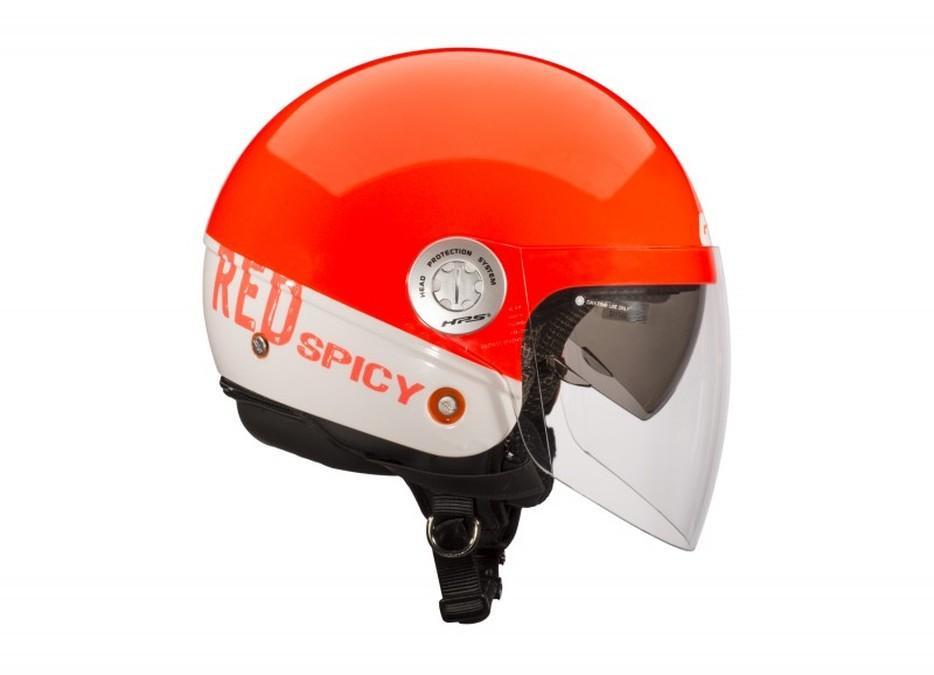 Cascos Givi 10.7 Mini y 10.8 Urban naranja
