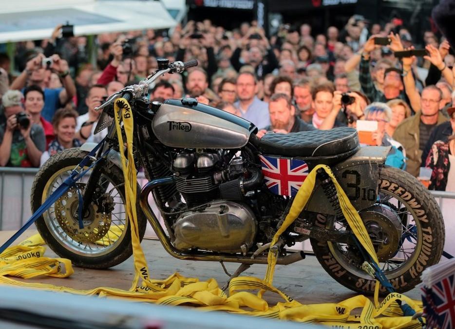 Triumph Tridays 2015: moto expuesta