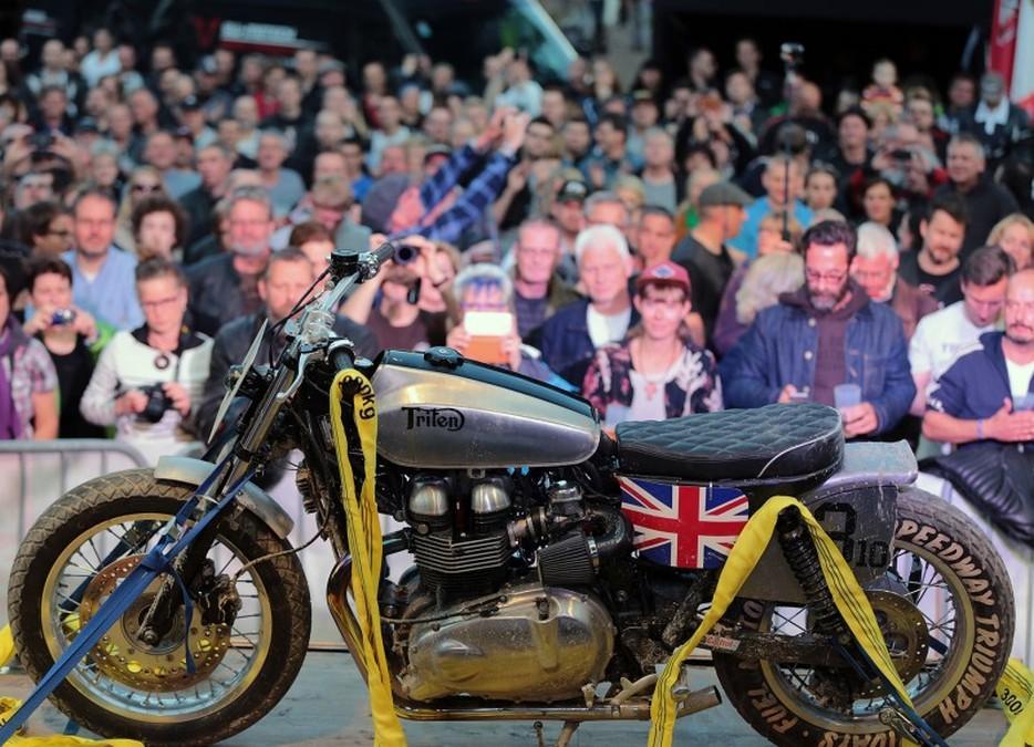 Triumph Tridays 2015: moto expuesta 2