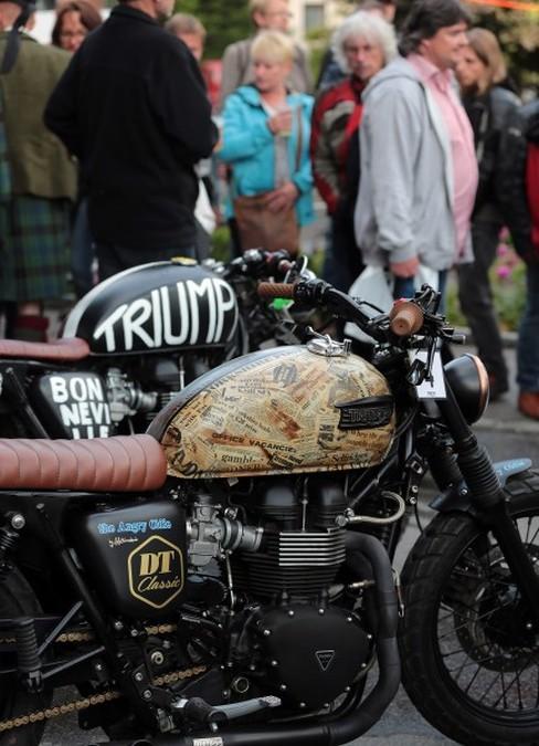 Triumph Tridays 2015. Moto.