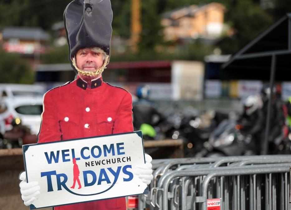 Triumph Tridays 2015. Entrada.