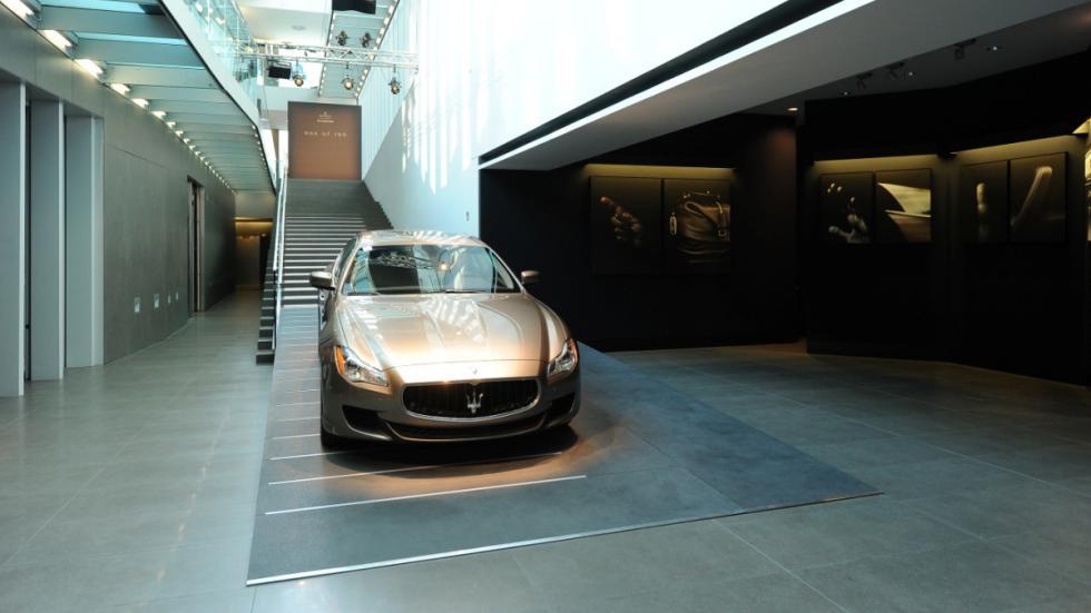 'One of 100' Maserati Quattroporte Zegna