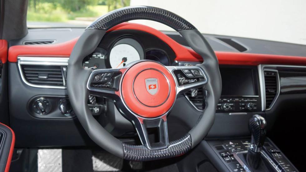 Porsche Macan Mansory salpicadero