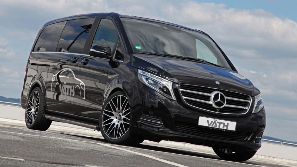 Mercedes Clase V by VATH tres cuartos delanteros