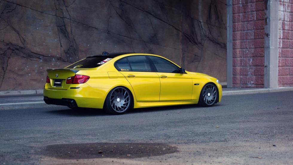 BMW Serie 5 Vossen lateral trasera