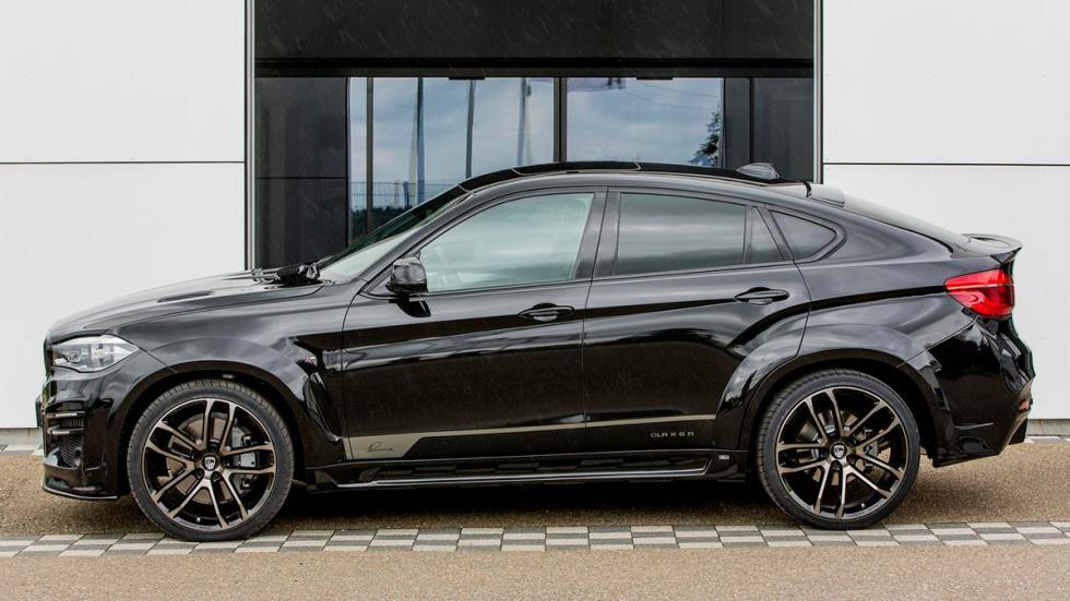 BMW X6 Lumma Design perfil