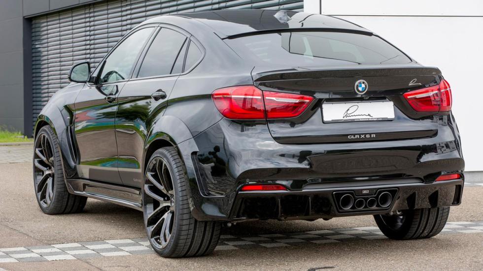 BMW X6 Lumma Design trasera