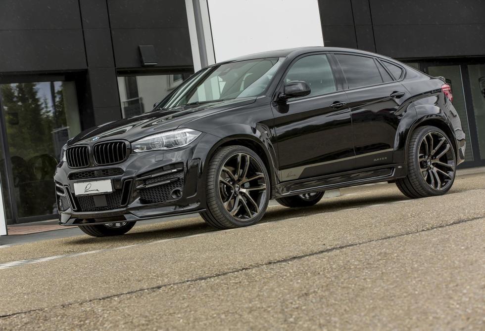 BMW X6 Lumma Design tres cuartos