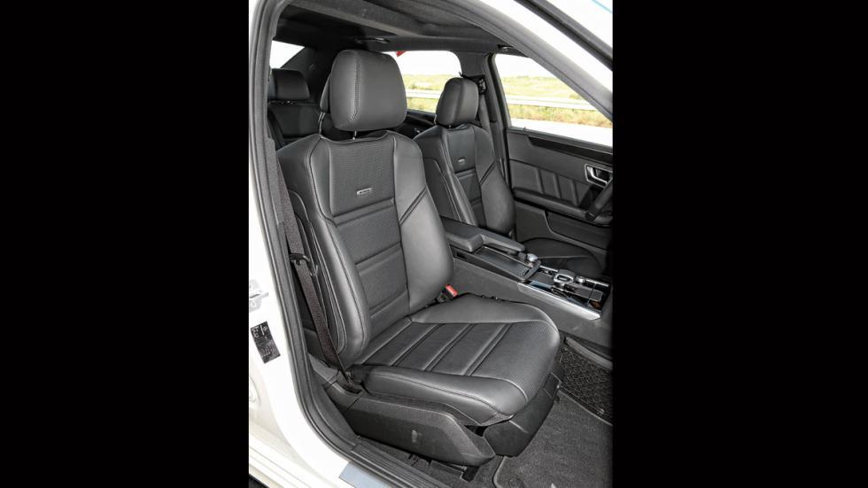 Mercedes E 63 AMG asientos