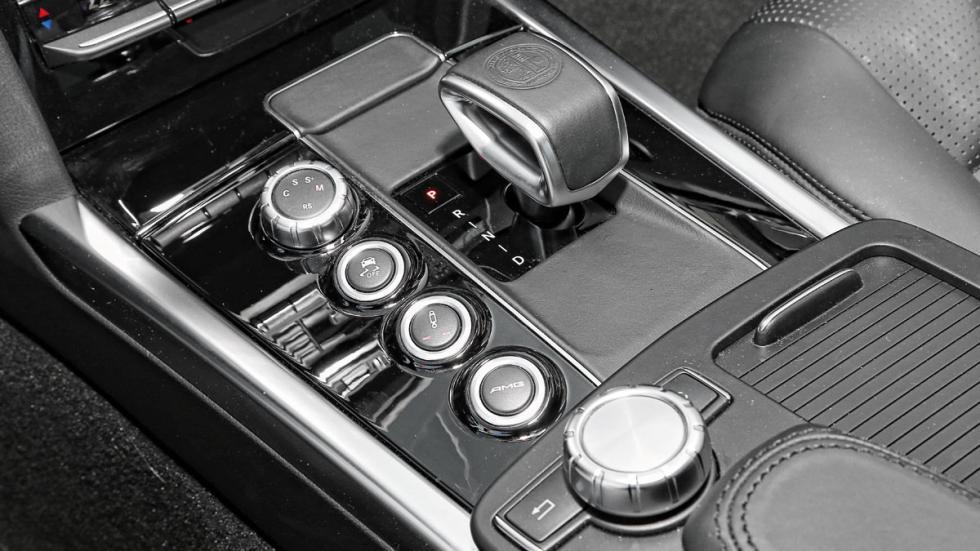 Mercedes E 63 AMG cambio