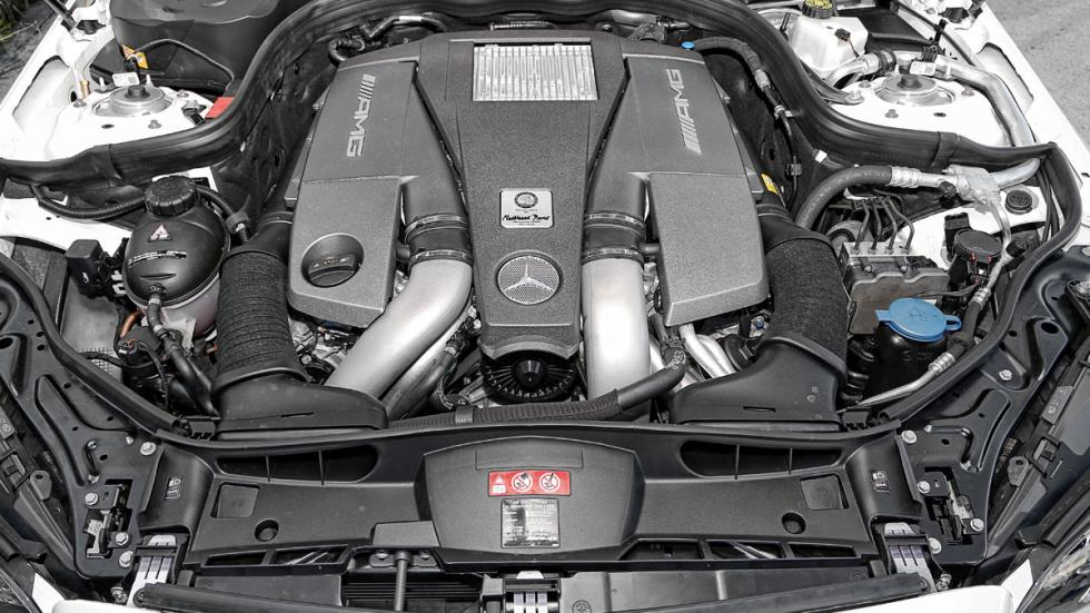 Mercedes E 63 AMG motor