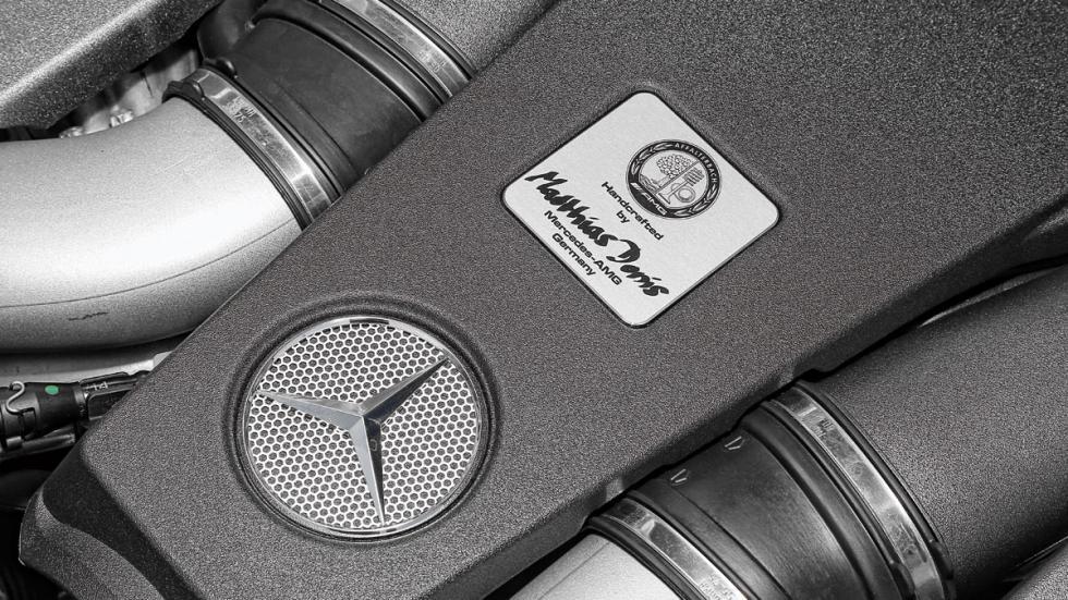 Mercedes E 63 AMG firma motor