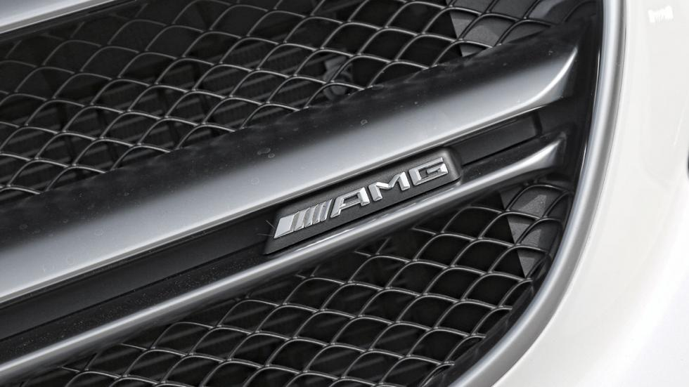 Mercedes E 63 AMG parrilla