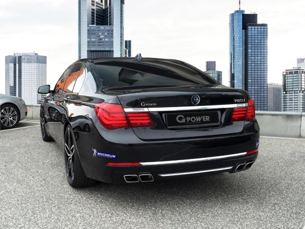 BMW 760i G-Power trasera