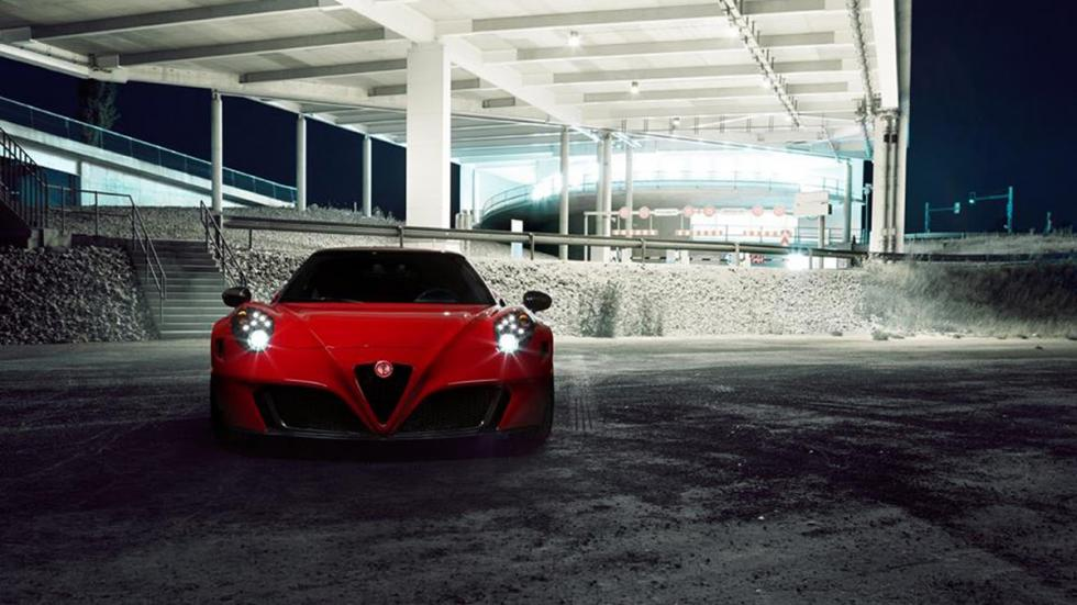 Alfa Romeo 4C Pogea Racing frontal