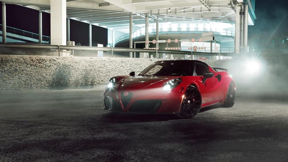 Alfa Romeo 4C Pogea Racing