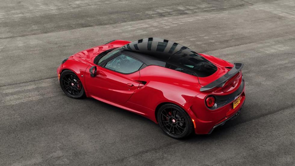 Alfa Romeo 4C Pogea Racing lateral