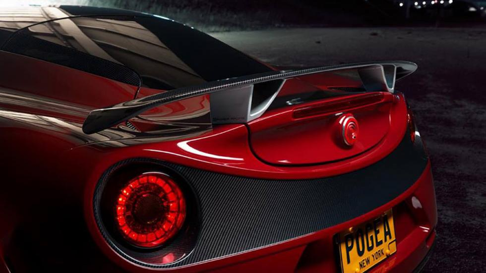 Alfa Romeo 4C Pogea Racing aleron