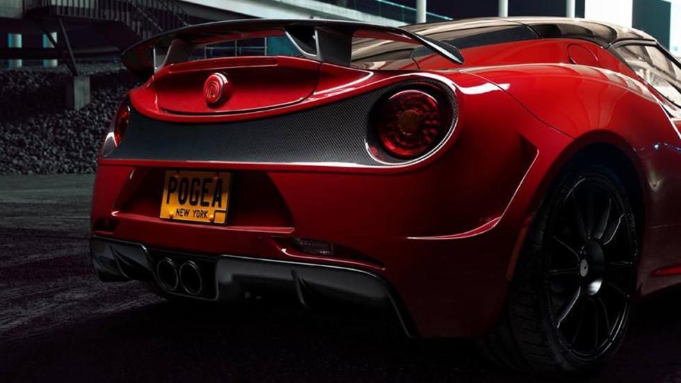 Alfa Romeo 4C Pogea Racing trasera