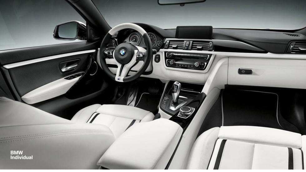 BMW Serie 4 Individual interior