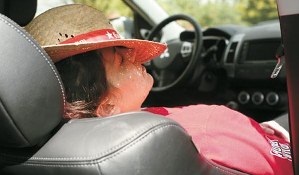 enfriar coche verano descanso
