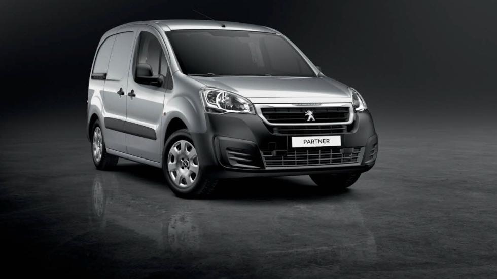 El Peugeot Partner 2015, en fotos