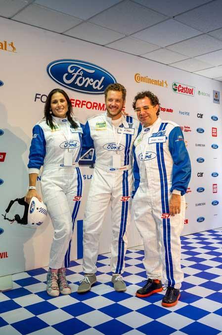 Famosos en las 24 Horas Ford 2015
